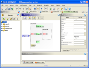 EditiX XML Editor screenshot